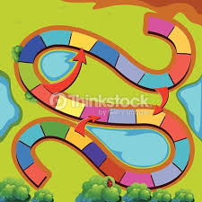 Graphic Of A Colorful Game Template Vector Art