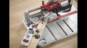 Skil Tile Saw 3550 by Skil Table Saw Youtube