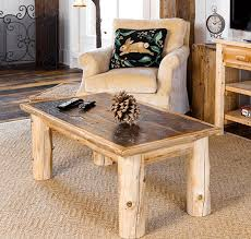 Rustic Living Room Log Furniture