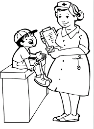 Doctor Coloring Pages Printable Female