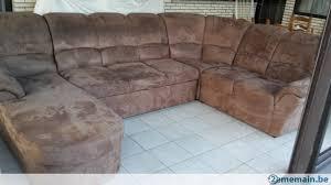 canape d angle alcantara magnifique canapé d angle alcantara brun lit rangement a vendre