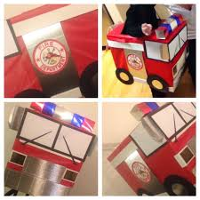 DIY FIRE TRUCK COSTUME | For Baby Alex | Pinterest | Costumes, Fall ...