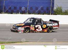 Austin Dillon 3 Qualifying NASCAR Truck Series ORP Editorial Stock ...