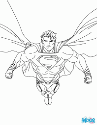Superman Logo Coloring Page Printable Pages Pdf