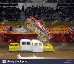 100 Truck Parts Long Island Krazy Train At Monster Jam The Monster Jam Monster Show Stock