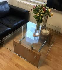 tisch glastisch wohnzimmertisch metall besprechung tisch edel