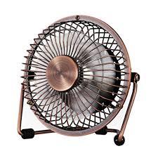 Oscillating Usb Desk Fan by Amazon Com Small Usb Desk Fan Glamouric Mini Metal Personal Fan