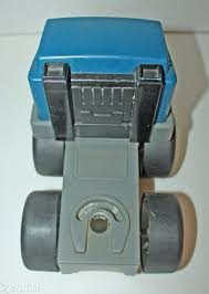 100 Little Tikes Semi Truck Vintage Blue Gray Toy And Similar Items