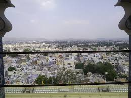 100 Birdview File Of Udaipur City From City Palace Udaipurjpg