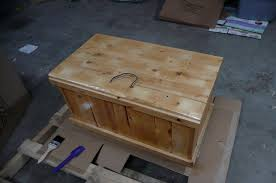 a wooden box 5 steps with pictures
