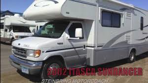Used 2002 Itasca Sundancer 27P Class C Gas Motorhome For Sale In MN