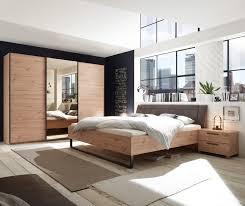 details zu schlafzimmer set bett doppelbett kleiderschrank eiche spiegel bronze 270cm 3 tür