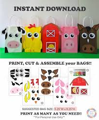 Barnyard Party Favor Bags/ Farm Animals Party Favor Bags/ Farm ... Childrens Bnyard Farm Animals Felt Mini Combo Of 4 Masks Free Animal Clipart Clipartxtras 25 Unique Animals Ideas On Pinterest Animal Backyard How To Start A Bnyard Animals Google Search Vector Collection Of Cute Cartoon Download From Android Apps Play Buy Quiz Books For Kids Interactive Learning Growth Chart The Land Nod Britains People