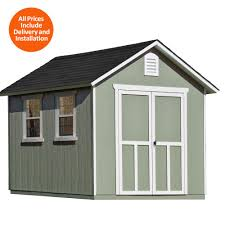 Everton 8 X 12 Wood Storage Shed by 8 X 12 Wood Storage Shed Blue Carrot Com