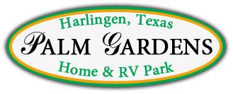 Palm Gardens Mobile Home And RV Park Logo