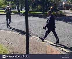 100 Evill Mark Leaving Merthyr Tydfil Crown Court After The First Day Of