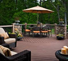 Home Deck Designs | HomesFeed Patio Deck Designs And Stunning For Mobile Homes Ideas Interior Design Modern That Will Extend Your Home On 1080772 Designer Lowe Backyard Idea Lovely Garden The Most Suited Adorable Small Diy Split Level Best Nice H95 Decorating With Deck Framing Spacing Pinterest Decking Software For And Landscape Projects