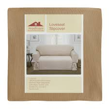 Christmas Tree Shop Brick Nj by Solid Loveseat Slipcover With Ties Christmas Tree Shops Andthat