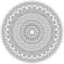 Zen Anti Stress Mandala