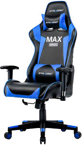 GTRACING Gaming Chair For PC Racing Gamer Chair High Back Adjustable Game  Chair Larger Size Adult Computer Gaming Chair Armrest Adjustable Lumbar ...