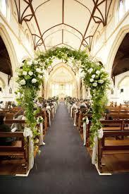 Wedding Arch Inside The Church