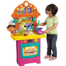 fisher price dora the explorer cooking adventure kitchen play set