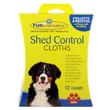 Do All Dogs Shed Their Fur by Amazon Com Furminator Dog Shed Control Cloths 12 Count