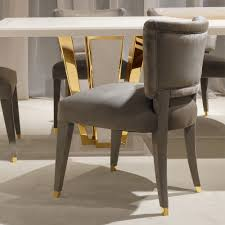 Luxury Dining Chairs Exclusive High End Designer Velvet Room Chair Slipcovers