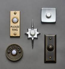 Decorative Doorbell Chime Covers by Mid Century Star Doorbell Button Solid Brass Rejuvenation