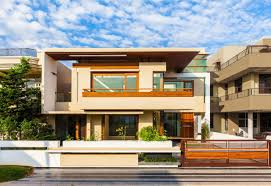 Modern Cheerful House Plans Facade Orange And Soft Yellow ... Home Outside Wall Design Edeprem Best Outdoor Designs For Of House Colors Bedrooms Color Asian Paints Great Snapshot Fresh Exterior Brick Fence In With Various Fencing Indian Houses Tiles Pictures Apartment Ideas Makiperacom Also Outer Modern Rated Paint Kajaria Emejing Decorating Tiles Style Front Sculptures Mannahattaus