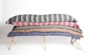summer slumbers hedge house bedrolls made in la remodelista