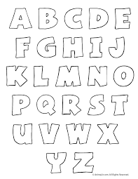 Printable Bubble Letters Woo Jr Kids Activities