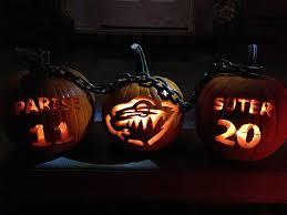 Halloween Express Milwaukee Pumpkin by Halloween Med Lockout Stämning Kedjorna I Minnesota Hockey