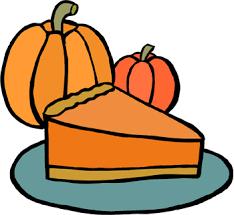 Pumpkin pie clip art