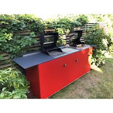 selbstgebaute oneq outdoor küche