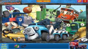 100 Truck Town Scarp Yard Scramble Hidden Object Game For Little Kids