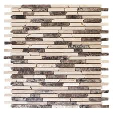 Cork Wall Tiles Home Depot by Jeffrey Court La Jolla 12 25 In X 12 In X 8 Mm Glass And Shell