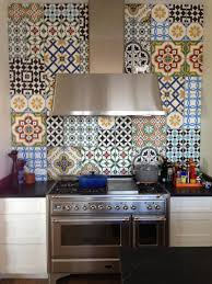 Decorative Tiles For Kitchen Walls Of Worthy Create A Backsplash With Cement Nice