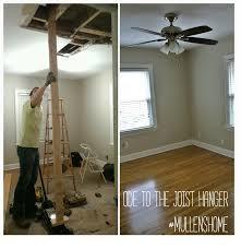 Ceiling Fan Joist Hangers by Mullens Home Ode To The Joist Hanger