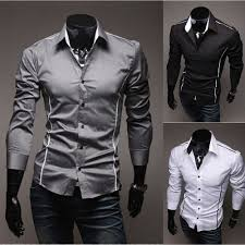 2012 New Style Mens Luxury Shirt Men Fashion Long Sleeve MS266