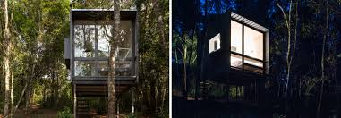 100 Minimalist Cabins Oneroom Tiny Cabin Is A Minimalist Refuge Deep In The Brazilian Forest