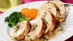 cuisiner des blancs de poulet blancs de poulet farcis aux chignons recettes ducros