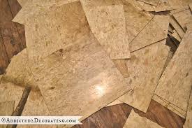 Photo 3 Of 9 Floor Boards Underneath Possible Vinyl Asbestos Tile VAT Superb In Tiles