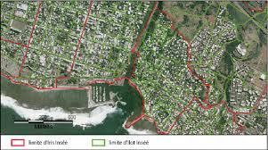 le port la reunion exemple de découpage en iris et îlots inséé le port de