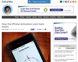 iPhone How the iPhone Activation Lock hack works