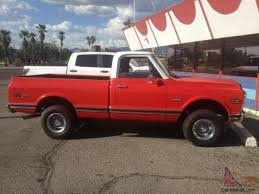 1972 Chevy Truck Short Bed 4x4 Orange, 1972 Gmc Truck | Trucks ...