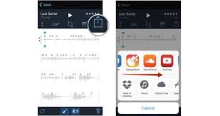 How to share and export tracks in Music Memos for iPhone
