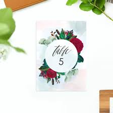Floral Vintage Wedding Invitations Ruby Red Rose Calligraphy Stationery Australia Perth Sydney Brisbane Melbourne Adelaide