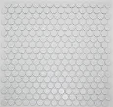 lyric matte glazed porcelain cotton white tile mosaic