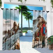 100 Mountain Design Group Amazoncom Leinuoyi Outdoor Curtain Panel